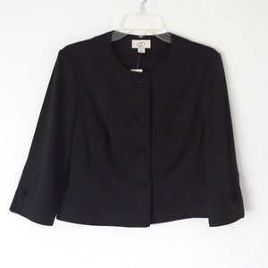 LOFT Collarless Blazer